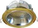 Ecola GX53 H2R Downlight with reflector_gold (светильник) 58x125 FG53H2ECB