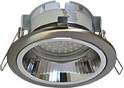 Ecola GX53 H2R Downlight with reflector_satin chrome (светильник) 58x125 FS53H2ECB
