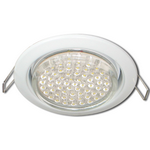 Ecola GX53 H4 Downlight without reflector_white (светильник) 38x106 - 10 pack FW5310ECB